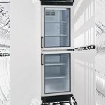prosklené lednice