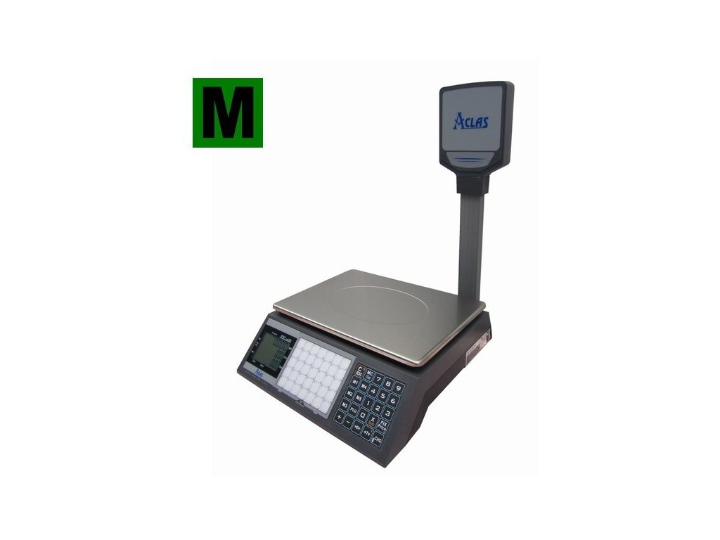 ACLAS PS1P-15DS - Obchodní váha