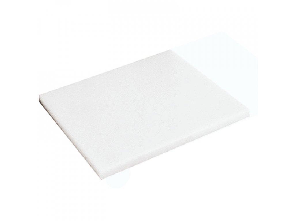 DESKA KRÁJECÍ BÍLÁ, rozměr 32 x 26,5 cm