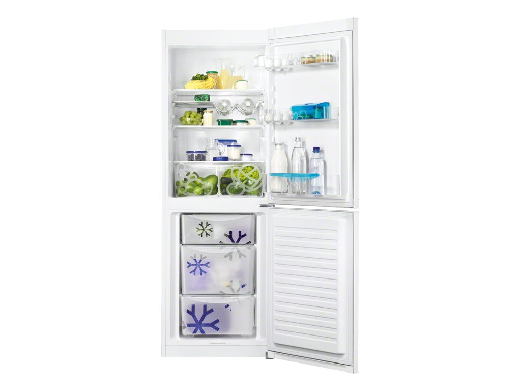 ZANUSSI ZRB33103WA - Chladnička s mrazákem dole