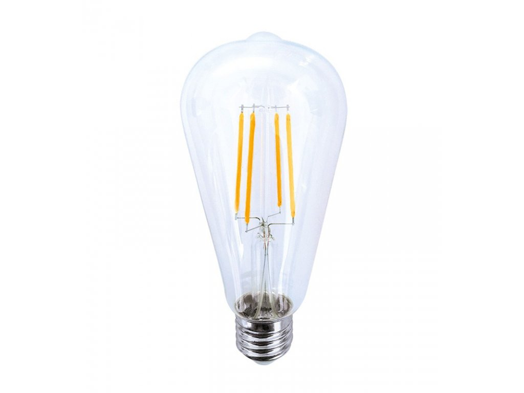 Solight LED žárovka retro, EDISON ST65, 8W, E27, 3000K, 360°, 810lm