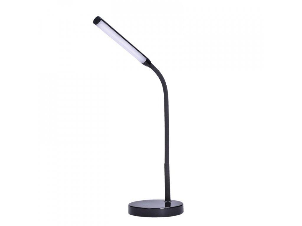 Solight LED stolní lampička, 4W, stmívatelná, 4500K, černá barva