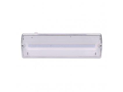 Solight LED nouzové osvětlení, 3,2W, 175lm, IP65, NiCd 800mAh baterie, testovací tlačítko