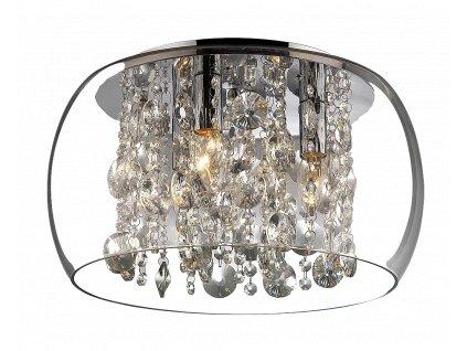 Rabalux 2827 Brilliant stropní lampa, E14 3x40W, chr