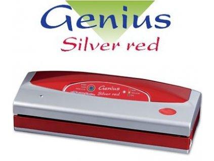Magic Vac Genius červenostříbrná - vakuová balička a svářečka fólií