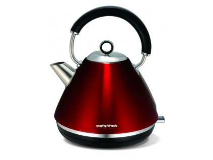 Morphy Richards konvice Accents retro Red