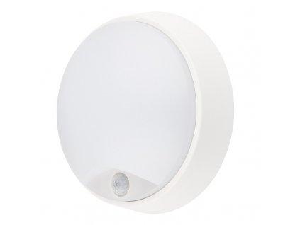 Solight LED venkovní osvětlení se senzorem, IP54,14W, 1000lm, 4000K, 22cm