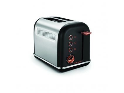 Morphy Richards topinkovač Accents Rosegold Black 2S