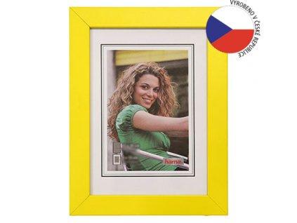 Hama rámeček dřevěný JESOLO, žlutá, 18x24cm