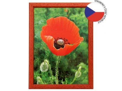 Hama 1132 rámeček dřevěný TRAVELLER II, červený, 10x15 cm