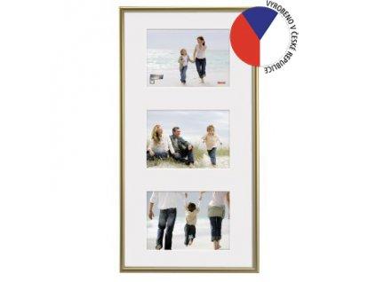 Hama rámeček plastový Galerie Madrid, zlatá, 25x55 cm/3