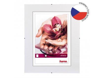 Hama clip-Fix, antireflexní sklo, 20x20cm