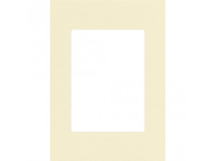 Hama pasparta, barva slonová kost, 15 x 20 cm