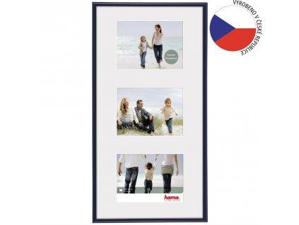 Hama rámeček plastový Galerie Madrid, modrá, 23x45 cm/3