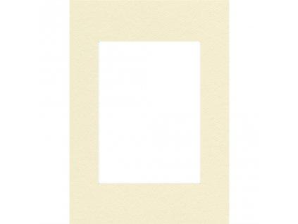 Hama pasparta, barva slonová kost, 70 x 100 cm