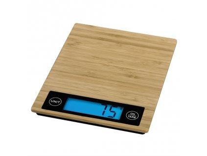 Xavax digitální kuchyňská váha Philina, bambusová