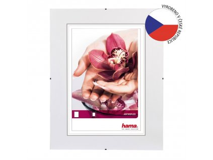 Hama clip-Fix, antireflexní sklo, 40x40cm