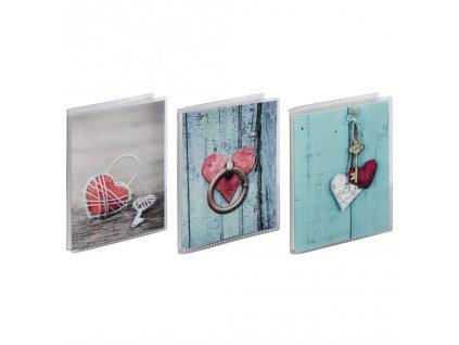 Hama album soft RUSTICO 10x15/24, designový mix