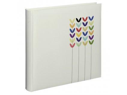Hama album klasické BLOSSOM 30x30 cm, 80 stran, bílá