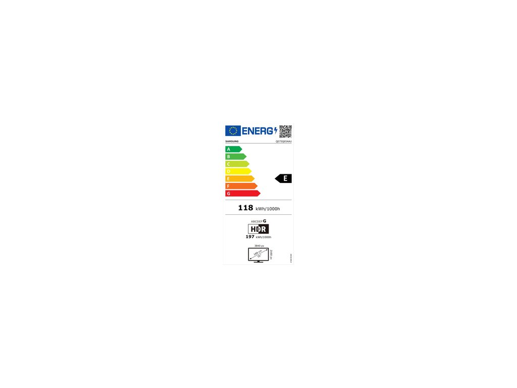 SAMSUNG QE75Q65A QLED ULTRA HD LCD TV