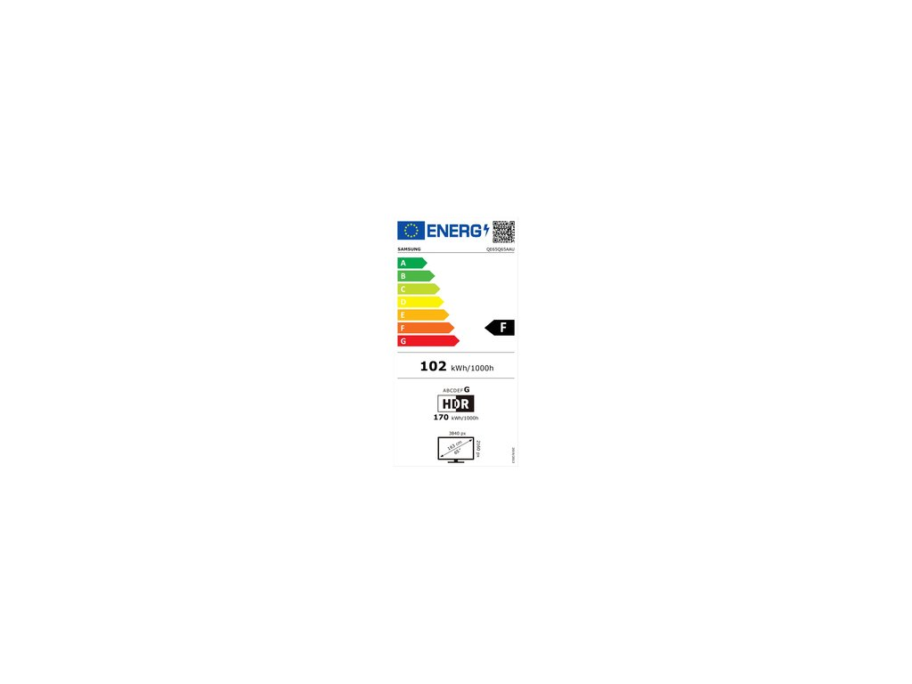 SAMSUNG QE65Q65A QLED ULTRA HD LCD TV