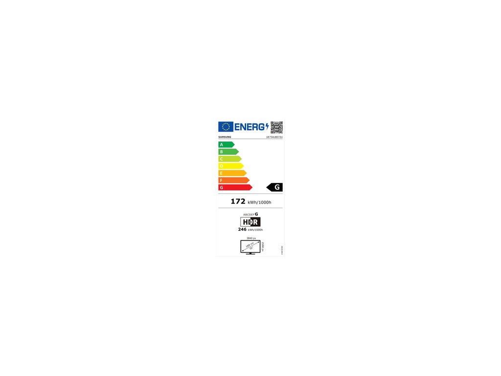 SAMSUNG UE75AU8072 LED ULTRA HD LCD TV