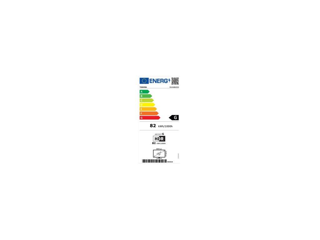 TOSHIBA 55UA6B63DG ANDROID SMART UHD TV