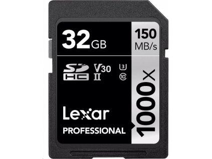 Lexar SDHC 32GB 1000x UHS II V30 U 3