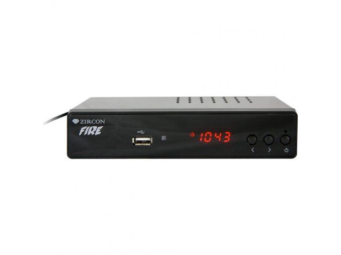 ZIRCON FIRE DVB-T2 HEVC PŘIJÍMAČ