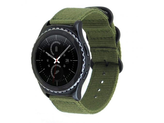 řemínek pro Samsung Gear S3 / GALAXY WATCH 46MM / GALAXY WATCH 3 NYLON NATO