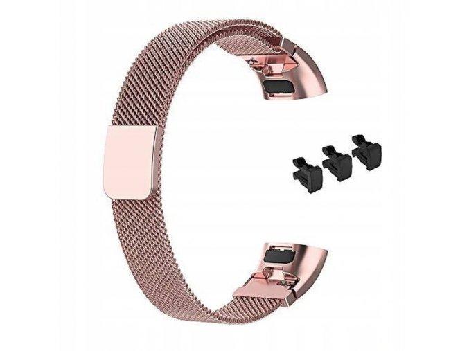 Náramek kovový řemínek pro Huawei BAND 3 PRO / 4 PRO