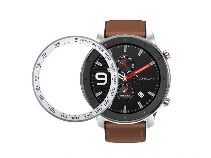 Ring Bezel Styling pouzdro / rám překrytí pro Samsung Gear S3 / Galaxy Watch 46 mm / Huawei Watch GT2 46mm