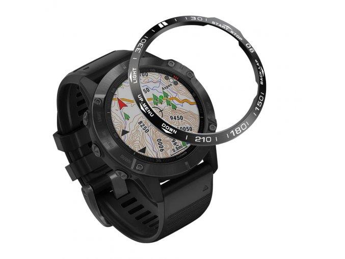 Ring Bezel Styling pouzdro / rám překrytí pro Garmin Fenix 5 / 5 PLUS