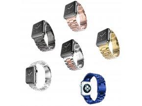 Apple watch iWatch 1 2 3 kovový řemínek náramek 38 MM