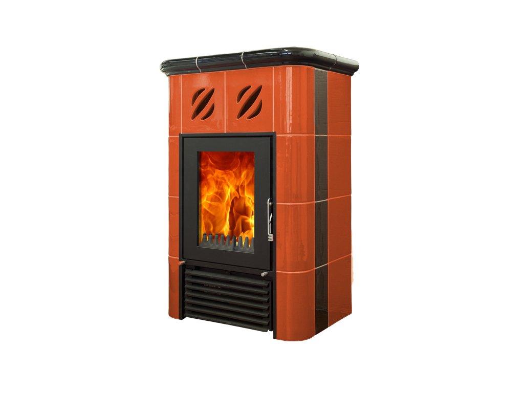 Mijava Mini NOVA - odstín oranžová/černá