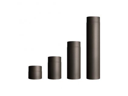 Roura kouřovodu průměr 150 mm, síla 2mm černá