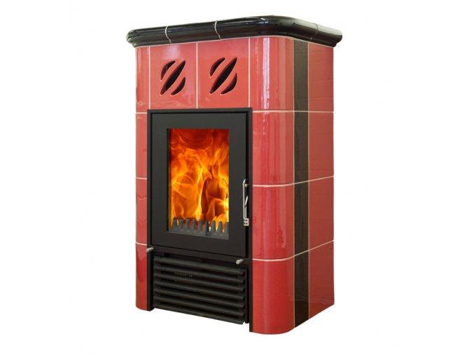 Mijava Mini Nova - odstín červená/černá