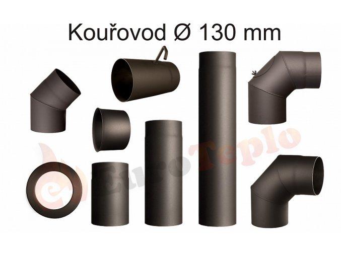 Kouřovody průměr 130 mm