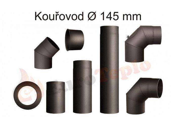 Kouřovody průměr 145 mm