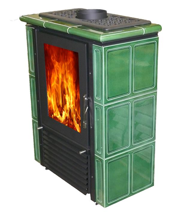 Mijava BABY - odstín Zelená lahvová Teplovodní výměník: Teplovodní výměník 5kW