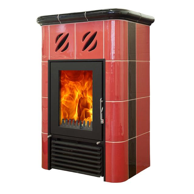 Mijava Mini Nova - odstín červená/černá Teplovodní výměník: Teplovodní výměník 9kW