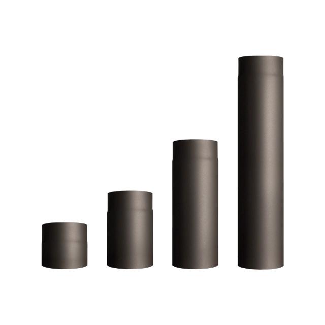 Kouřovody průměr 160 mm Roura kouřovodu: délka 250mm