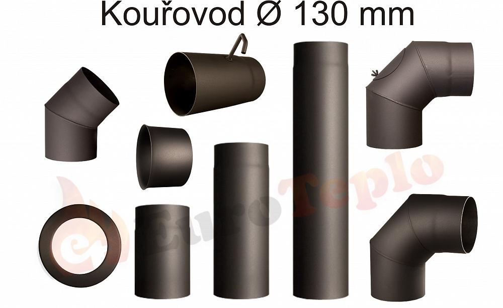 Kouřovody průměr 130 mm Zděř: průměr 120 mm