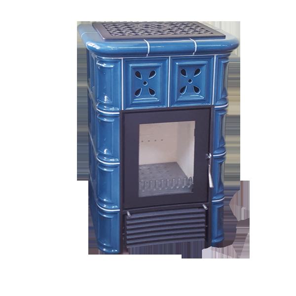Mijava Mini Nova - odstín Modrá Pastel Teplovodní výměník: Teplovodní výměník 9kW