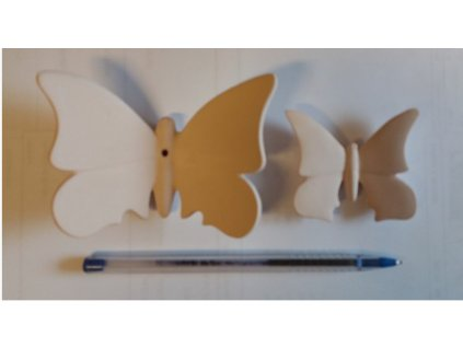forma motýl větší