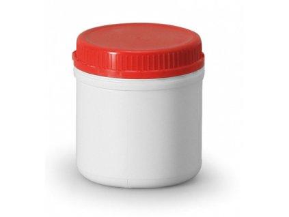 plast.dóza s uzávěrem červený1