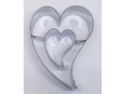 Vykrajovátko Opilé srdce se středem