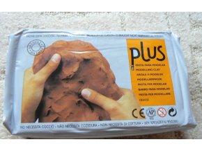 Keramická hmota Colorobbia Plus hnědá 1kg