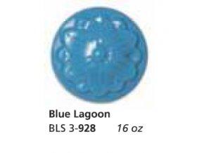 Glazura  BLS 928 Blue Lagoon -  modrá laguna