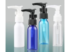 plast.lahvička 100ml s pumpičkou bílá